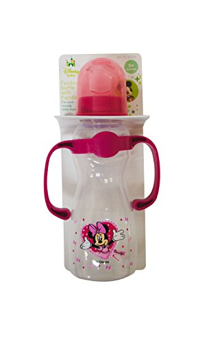 Minnie Mouse Baby Bottle With Handles