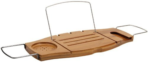 Umbra Aquala Bamboo Bathtub Caddy, Natural (Umbra Wine Rack compare prices)