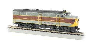 Bachmann Erie and Lackawanna HO Scale Alcofa2 Diesel Locomotive - DCC Sound Value On Board
