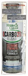 Herbal Clean Qcarbo20 Clear, Strawberry-Mango 20 Fl Oz (591 Ml)
