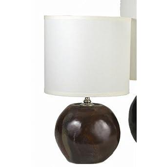 Sphere Lamp Glaze Color: Lavender, Size: Medium