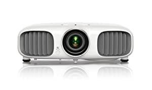 Epson PowerLite Home Cinema 3010, Full HD 1080p, 2D and 3D Home Theater Projector with Integrated Speakers (V11H421020)