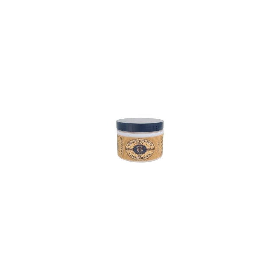 LOccitane Shea Butter Ultra Rich Body Scrub, 200 ml