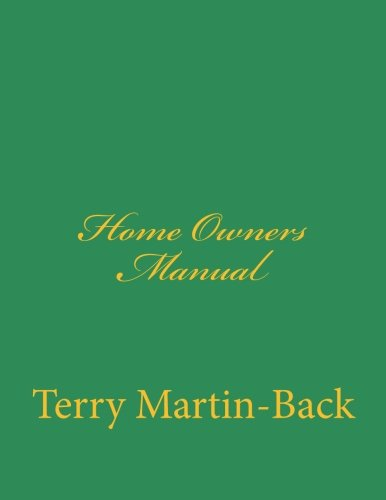 Home Owners Manual