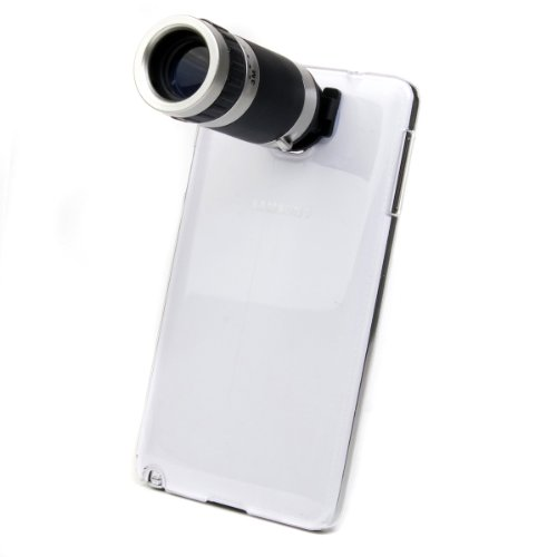 Xcsource® 8X Zoom Telescope Camera Lens + Case For Samsung Galaxy Note3 Iii N9000 Dc436