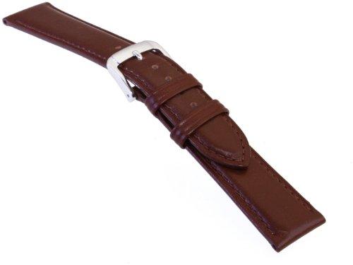 [バンビ]BAMBI 時計バンド スコッチガード  カーフ 茶 20mm BCM01C-S