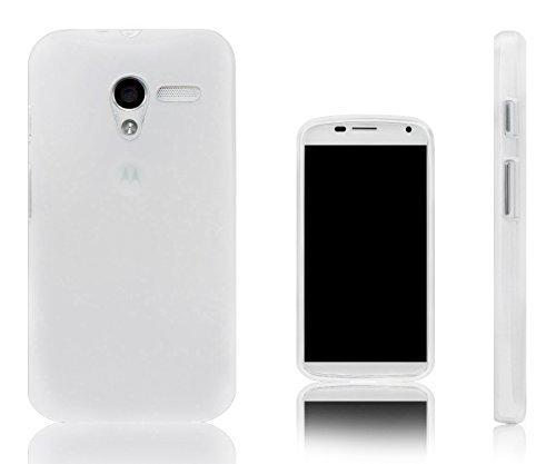 Vapour Flexibel TPU Gel Schutzhülle Für Motorola Moto X Semi Transparent
