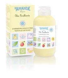 OLIO EMOLLIENTE DI MANDORLE DOLCI E RISO nutrienti per pelli sensibili 150 ml