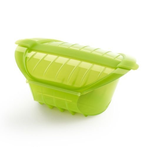 Lekue Ogya XL Microwave Pot 3407600V09U004 , 1 qt., Green