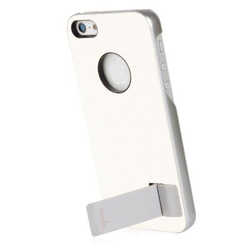 Best Price Moshi iGlaze Kameleon Designer HardShell Case with KickStand for iPhone 5 (White)