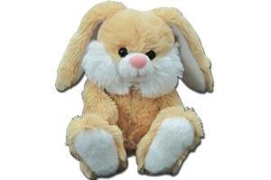 "NICK NACK Nick Nack Bunny 5.5"" Soft Stuffed Toys In Beige"