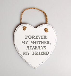 forever-my-mother-always-my-firend-shabby-chic-heart-hanging-plaque