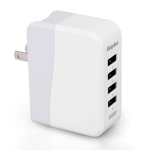 EasyAcc® 20W / 4 A 4-Port USB Wall Charger