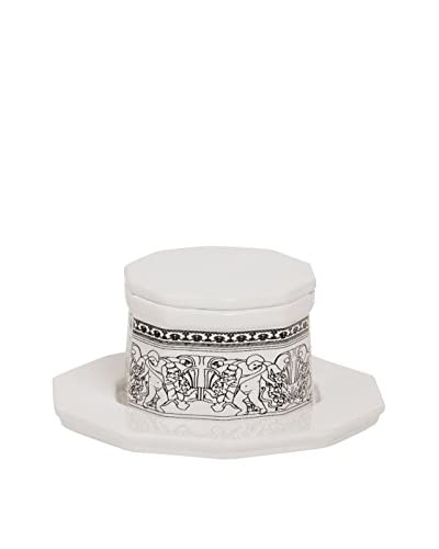Seletti Fontana Palace Salt & Pepper Cellar, White