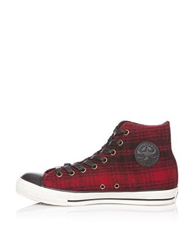 Converse Sneaker Ct Wlch Hi [Nero/Rosso]