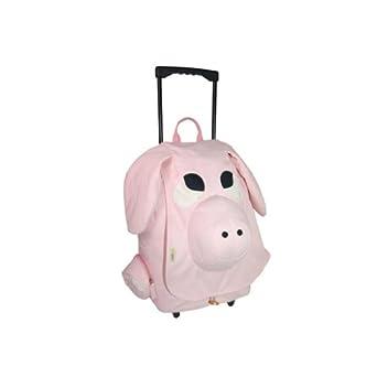 Ecogear Ecozoo Kids Rolling Pig, Pink, One Size