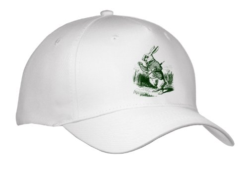 cap_179093 PS Vintage - White Rabbit Late from Alice in Wonderland - Caps