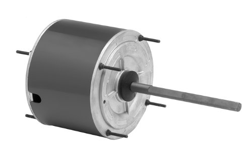 "Fasco D7908 5.6"" Frame Totally Enclosed Permanent Split Capacitor Condenser Fan Motor with Ball Bearing, 1/3HP, 1075rpm, 208-230V, 60Hz, 2.6 amps by Fasco Motors"