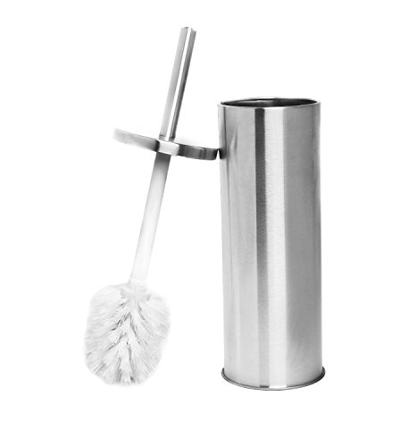 Estilo Stainless Steel Toilet Brush and Holder (Stainless Steel Toilet Brush compare prices)