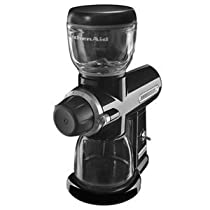 KitchenAid Pro Line Series Burr Coffee Mill Onyx Black