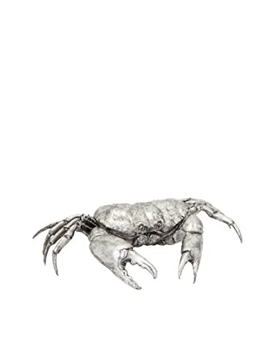 Pauli Silver Crab Statue