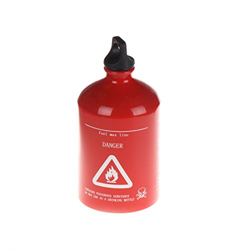 Hot Sale Red Spare Fuel Bottle 30Oz 1000Ml Aluminum Gas Can front-740996