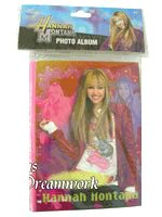 Disney Hannah Montana Photo Album 4in x 6in