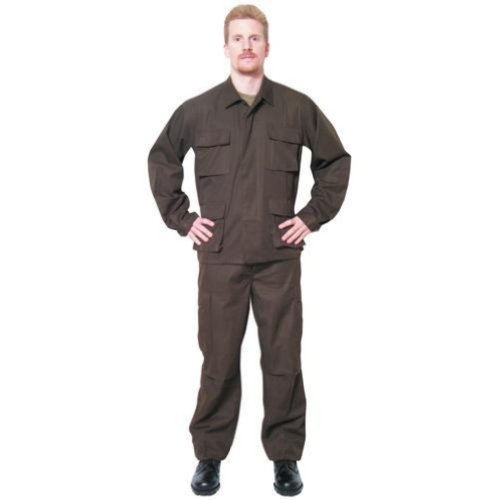Outdoor Men's Hunting Bdu Fatigue Shirt 3X Large Brown - Outdoor at Sears.com