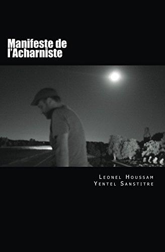 Couverture du livre Manifeste de l'Acharniste
