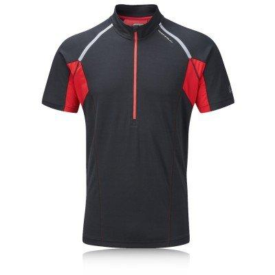 Ronhill Men's Trail Short Sleeve Zip Tee