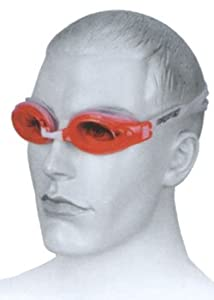 (Osprey) Optimal Swimming Goggle (Red)