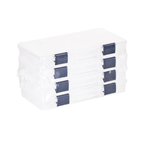 Plano 2-3500 Prolatch Stowaway Utility Box (4-Pack) (Tackle Tray compare prices)