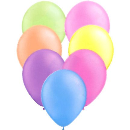 "Qualatex 11"" Neon Assorted Latex Balloons (10 ct)"