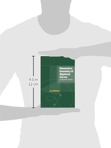 Elementary Geometry of Algebraic Curves Paperback: An Undergraduate Introduction