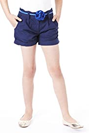 Autograph Pure Cotton Chino Shorts with Belt