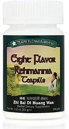 Huit saveur Rehmannia Teapills (Zhi Bai Di Huang