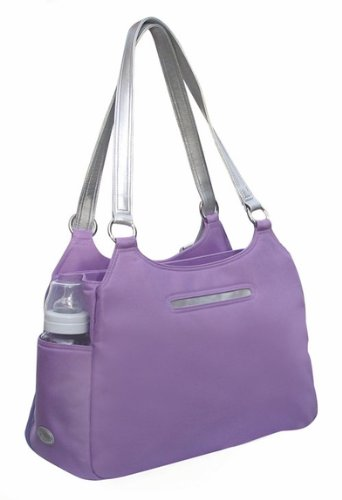 Lilac Azalea Convertible Backpack Diaper Bag