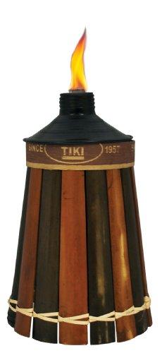 Lamplight TIKI 1112089 Royal Poly Table Top Bamboo Torch