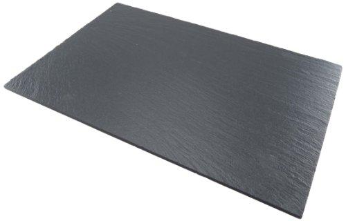 Lebrun 410225100104 - Plato rectangular (pizarra, 25 x 10 cm)