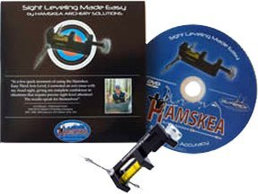 Hamskea Archery Solutions Sight Leveling Made Easy Dvd 3Rd Axis Level Combo Pack... by Hamskea Archery Solutions