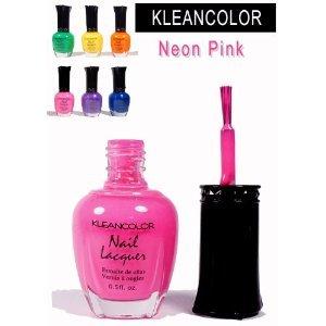 Kleancolor - Nail Polish - Neon Pink   Preen.Me