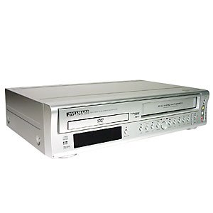 SYLVANIA SSD800 Dual-Deck DVD/VCR Combo, DTS and Dolby Digital output in DVD mode