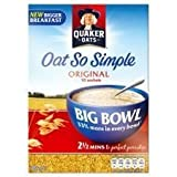 Quaker Oats Oat So Simple Original Big Bowl 385G