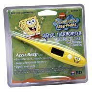 Spongebob Squarepants Digital Thermometer By Bd #524924 By Bd