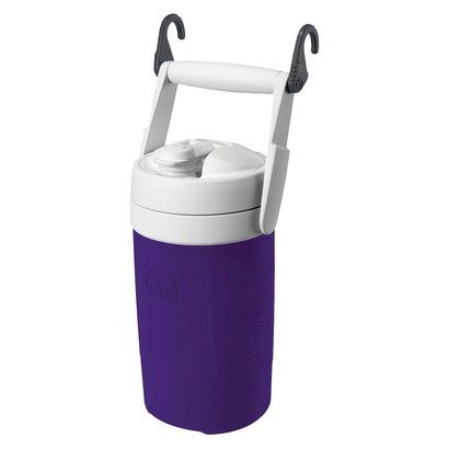 Igloo 1/2 Gallon Sport Purple Plastic Thermos Water Ice Cooler Jug front-205383