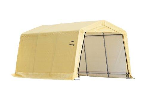 ShelterLogic Instant Garage Series 1015 AutoShelter, Tan, 10 x 15-Feet (Instant Garage compare prices)
