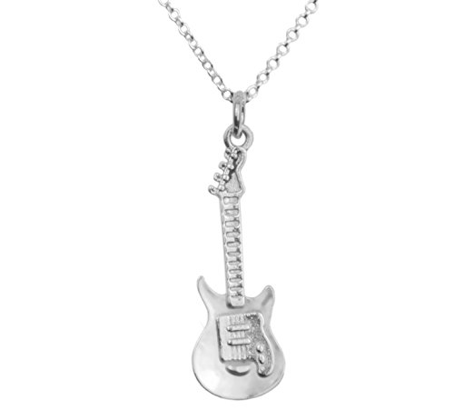925-sterling-silver-electric-guitar-music-pendant-necklace-includes-a-polishing-cloth