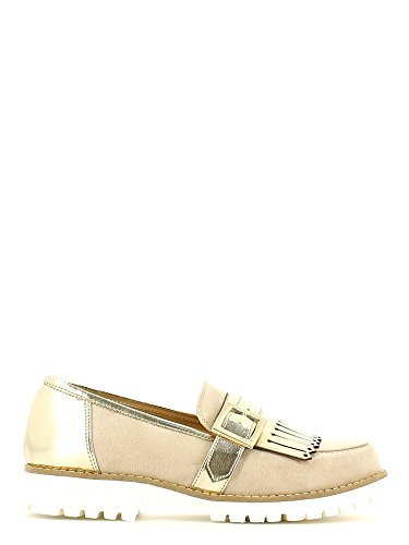 Grace shoes 5276 Mocassino Donna Beige 35