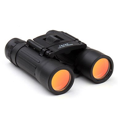 10X25 Black Folding Binoculars