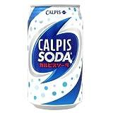 カルピス カルピスソーダ 350ml缶×24本入 CALPIS SODA